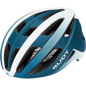 Rudy Project Venger Road Helm, pacific blue/white matte
